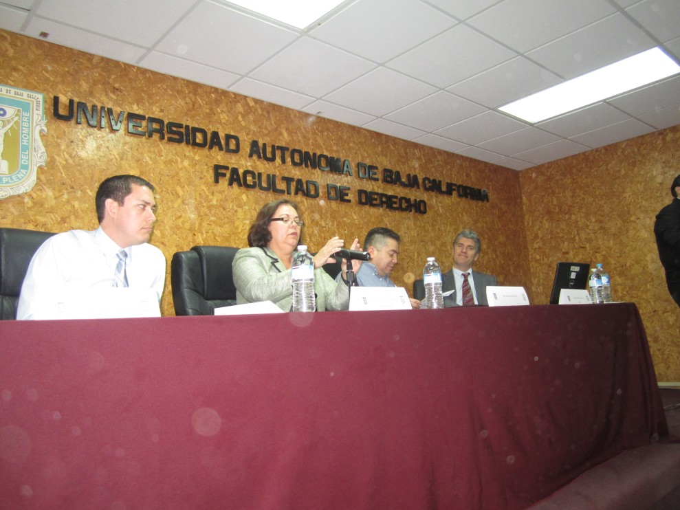 Innocence Conference at UABC Tijuana, Mexico