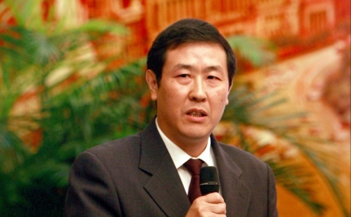 Shen Deyong, in 2007. Shen called for more respect of the judicial process
