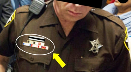 Police Campaign Ribbons
